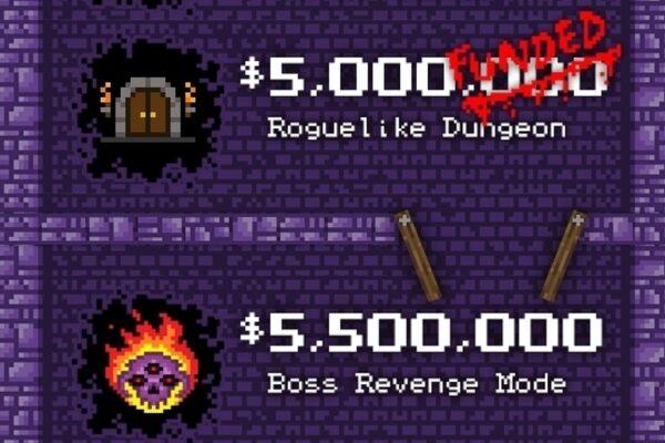 El desarrollador manchado de sangre abandona la meta de $ 5 millones de Roguelike durante cuatro años después del éxito de Kickstarter • Eurogamer.net