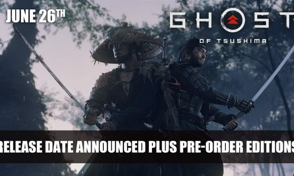 Ghost of Tsushima anunciado para el 26 de junio; Ediciones de pre-pedido
