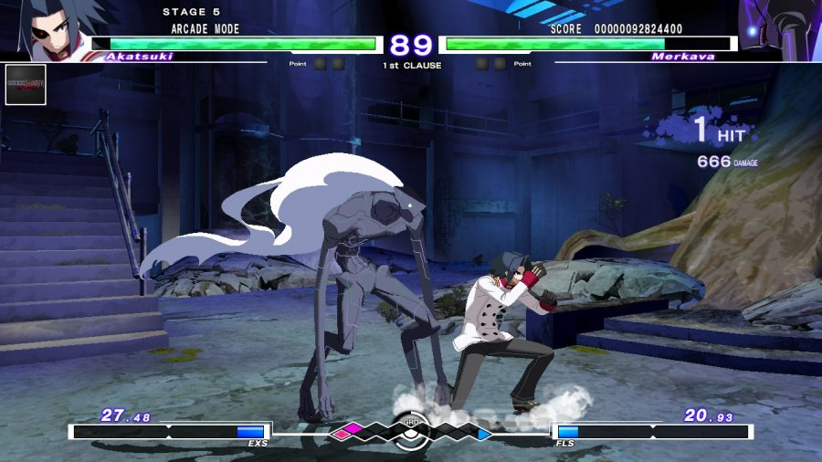 Under Night In-Birth Exe: Late[cl-r] Revisión: captura de pantalla 5 de 7