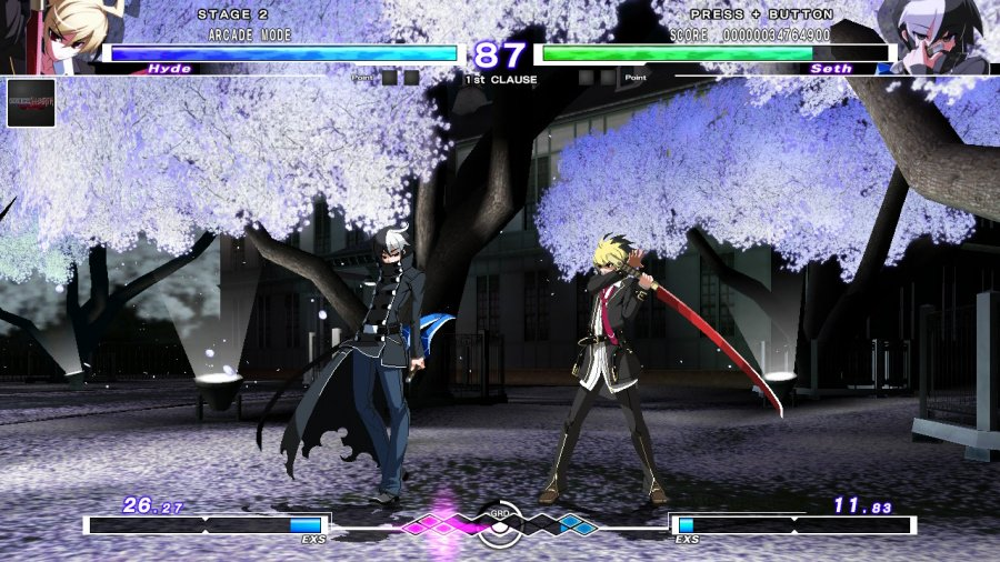 Under Night In-Birth Exe: Late[cl-r] Revisión: captura de pantalla 4 de 7