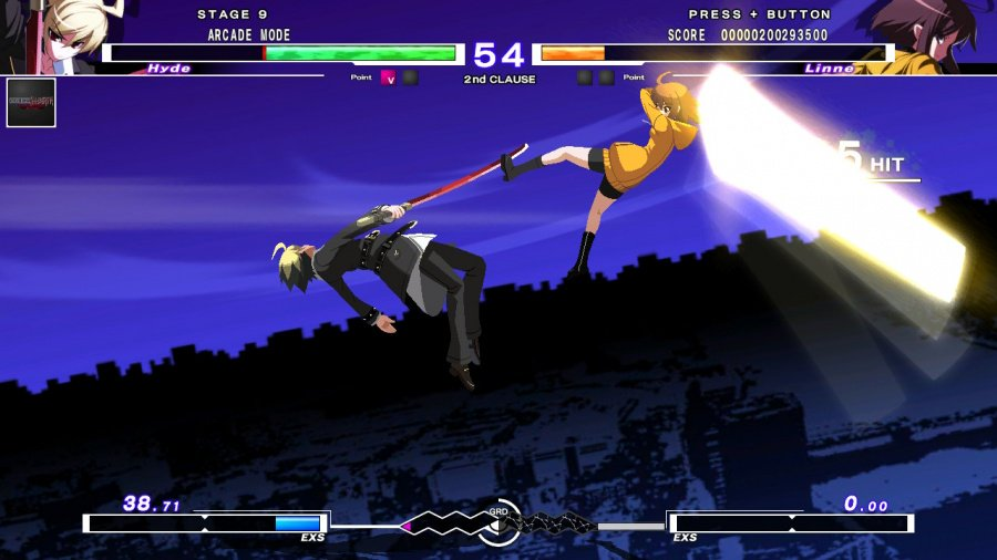 Under Night In-Birth Exe: Late[cl-r] Revisión: captura de pantalla 3 de 7