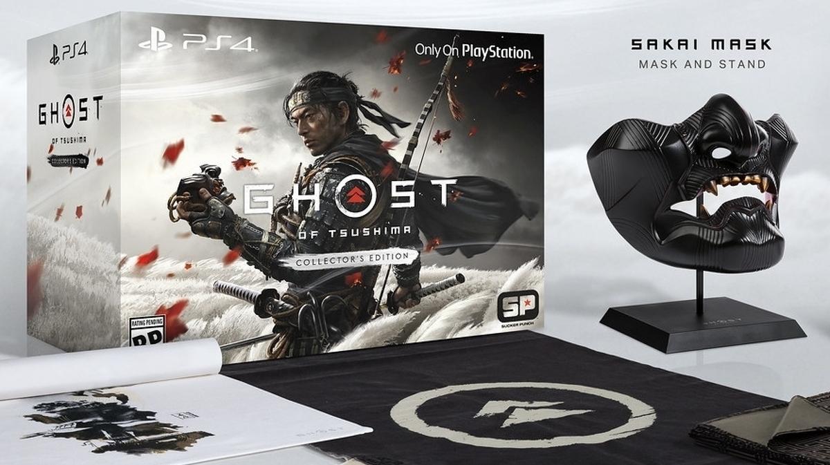 Ghost of Tsushima tiene una fecha de lanzamiento en junio de 2020, un nuevo tráiler y una edición de coleccionista a tiempo que viene con una máscara • Eurogamer.net