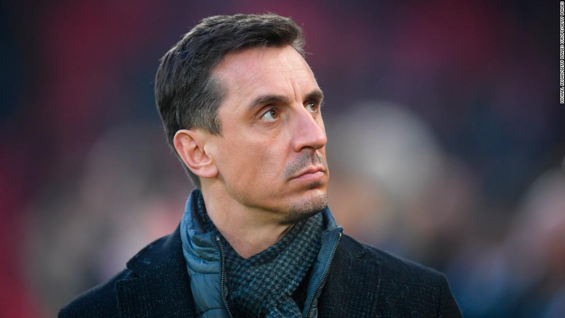 "Gary Neville: ""Inconcebible"" que la Premier League inglesa vuelva pronto"