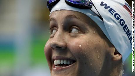 Mallory Weggemann de EE. UU. Sonríe en los Juegos Paralímpicos de Río 2016.