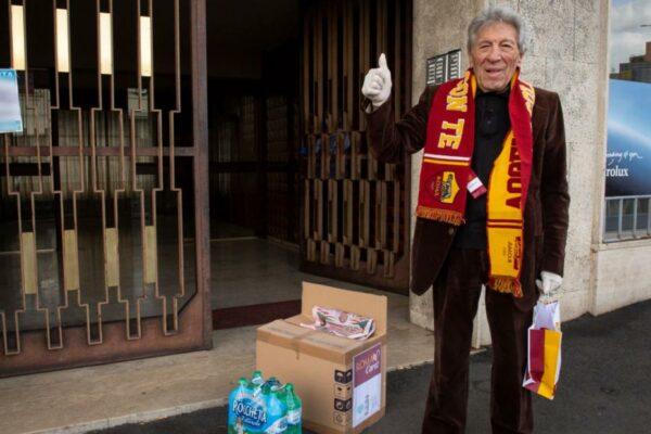 AS Roma ofrece paquetes de atención para sus partidarios más antiguos al bloquear el coronavirus