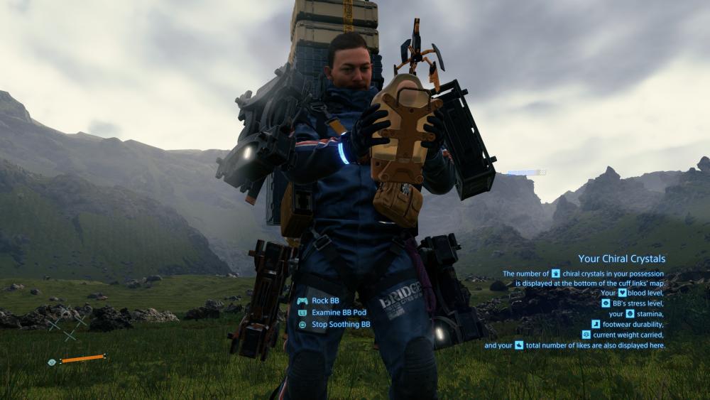 Death Stranding Photo Mode se considera una actualización para PS4