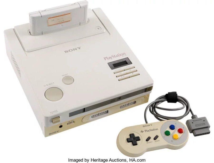 Subastas Heritage PlayStation de Nintendo