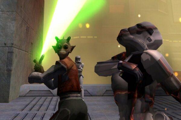 El puerto de consola de Star Wars: Jedi Academy está siendo invadido por jugadores veteranos de PC