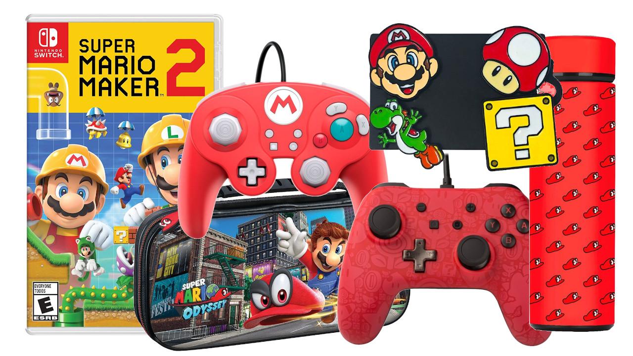 Estos juegos principales de Switch han bajado a $ 40 por Mario Day
