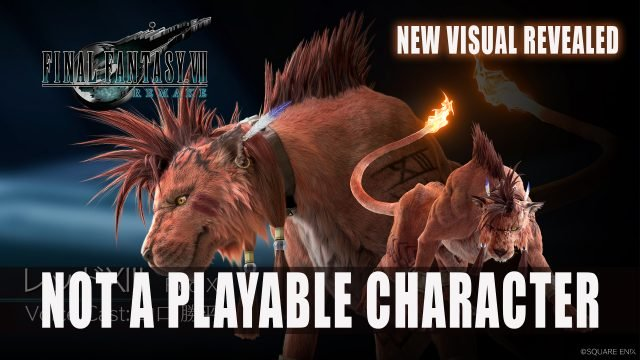 Final Fantasy VII Remake Red XIII no es un personaje jugable más un nuevo visual revelado