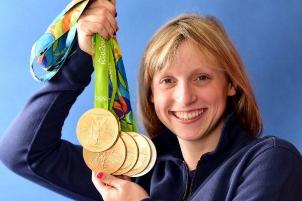 """Katie Ledecky espera que los Juegos Olímpicos del próximo año puedan ser una celebración del """"acercamiento del mundo entero"""""""