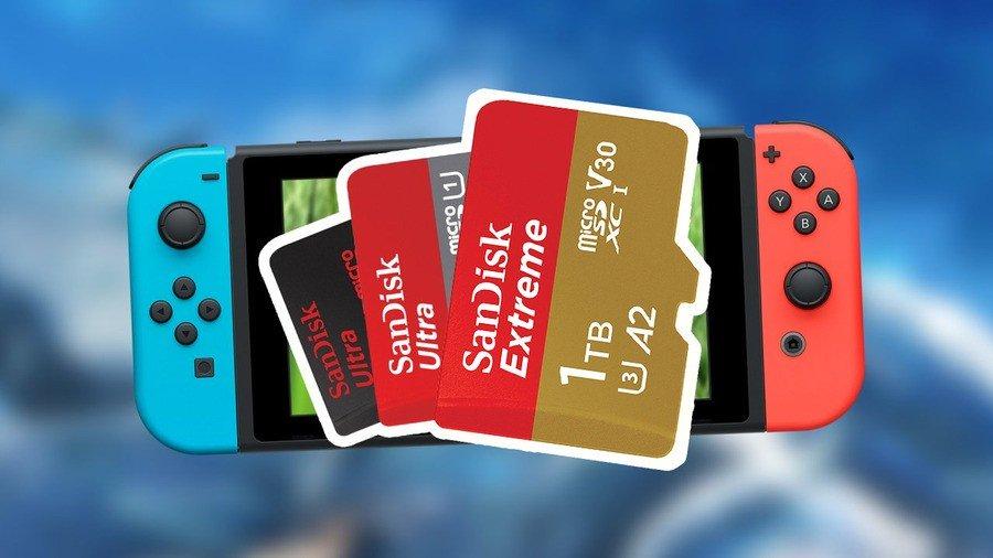 Las mejores tarjetas Micro SD de Nintendo Switch