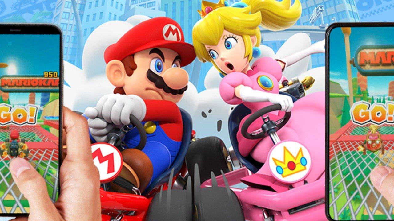 Los modos multijugador de Mario Kart Tour ya están en vivo