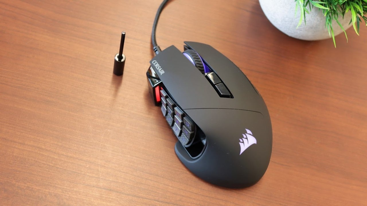 Revisión del mouse Corsair Scimitar RGB Elite Gaming