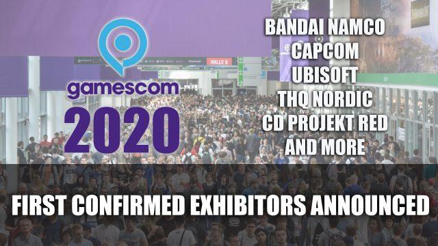 Se anuncian los primeros expositores confirmados de Gamescom 2020