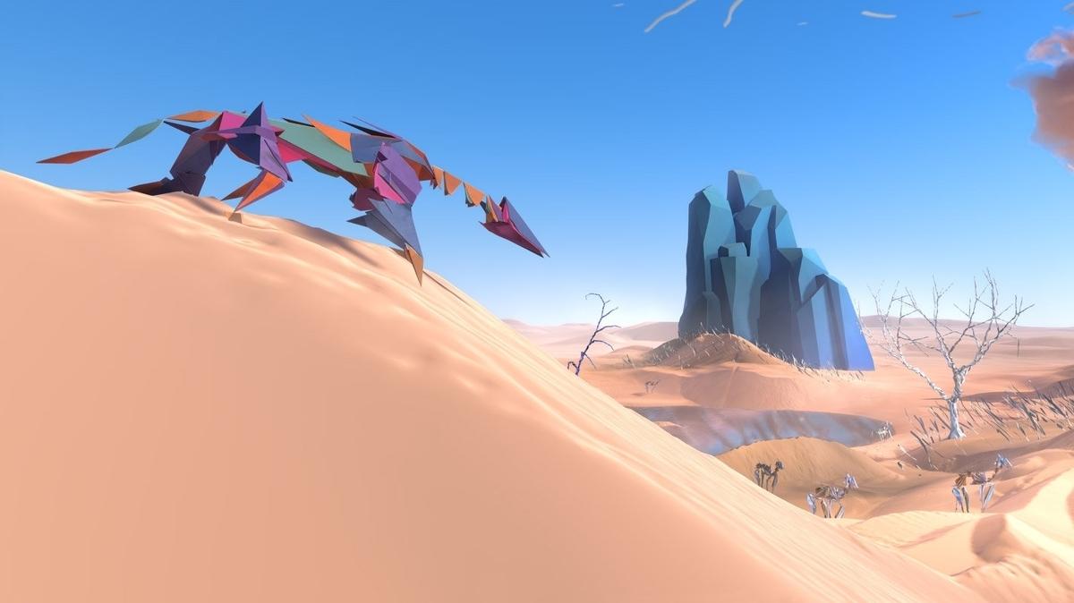 Simulador surrealista del ecosistema PSVR de otro creador mundial, Paper Beast, este mes • Eurogamer.net