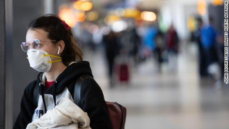 Máscaras en aviones: donde los asuntos se relacionan con la protección personal y la distancia social