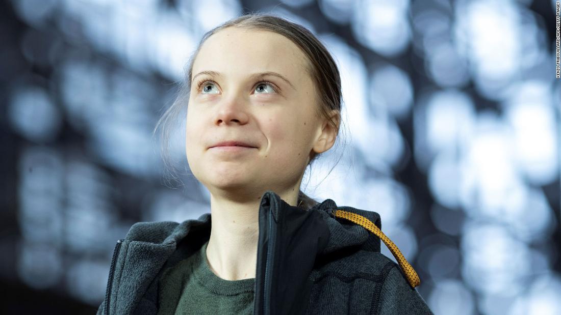 """Greta Thunberg: la respuesta de Covid-19 muestra que el mundo puede """"actuar repentinamente con la fuerza necesaria"""""""