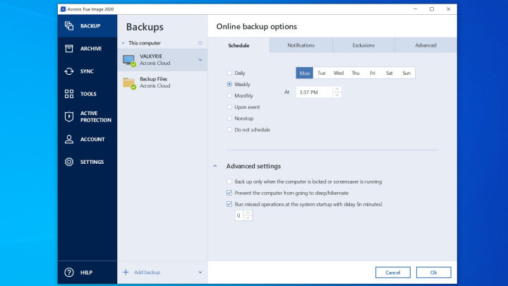 Acronis 2020 true image review