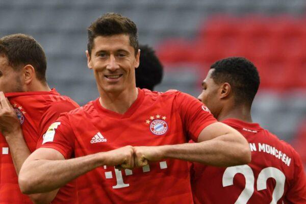 Robert Lewandowski se duplicó cuando el Bayern derrotó a Fortune para obtener una ventaja de 10 puntos