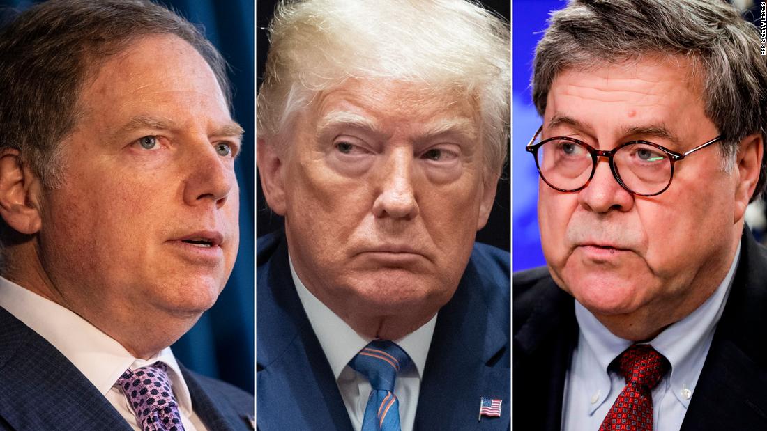 Un intento de liberar a un poderoso fiscal de Nueva York parece ser el último movimiento para proteger a Trump