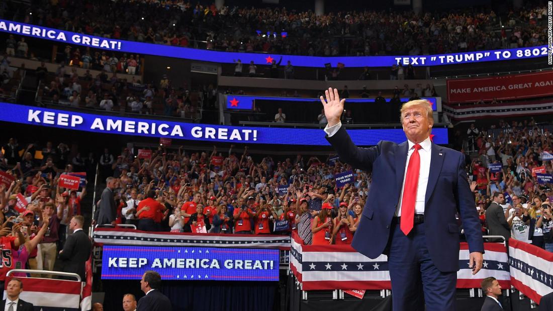 Trump Rally en Tulsa, Oklahoma