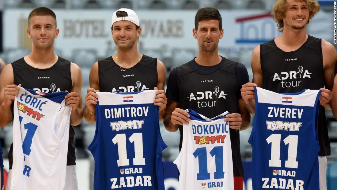 Grigor Dimitrov: evento de tenis organizado por Novak Djokovic bajo fuego cuando los jugadores dan positivo por coronavirus