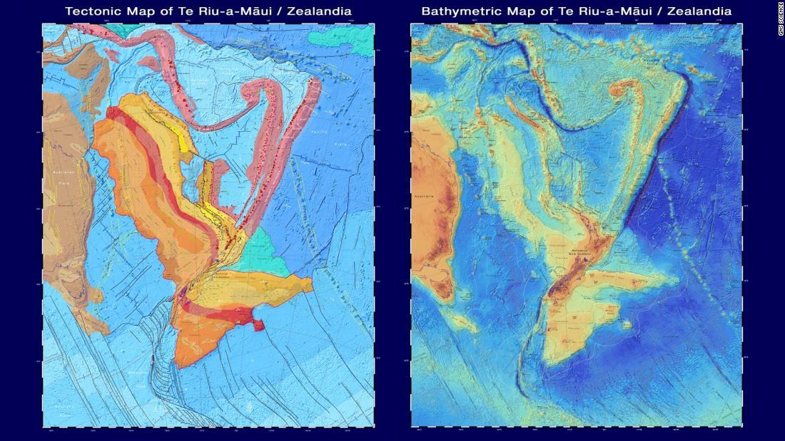 Zealandia: Nuevos mapas muestran el continente submarino perdido de Nueva Zelanda