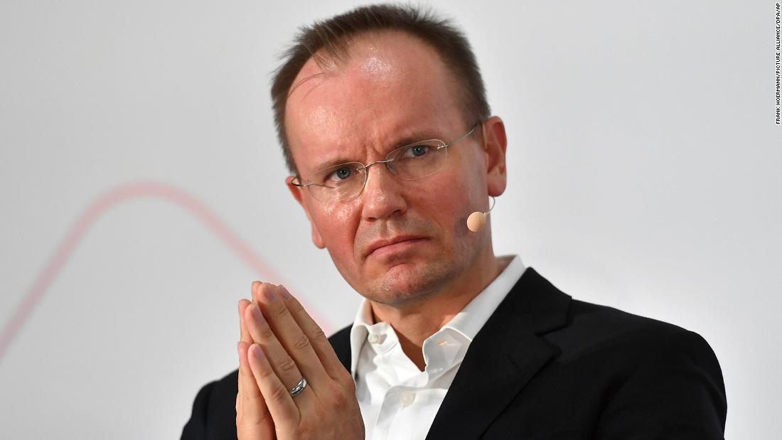 El ex CEO de Wirecard Markus Braun, arrestado en Alemania