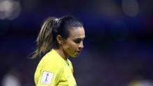 Marta es la seis veces jugadora mundial de la FIFA del año.