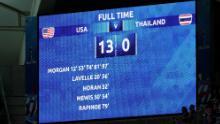 13-0: la línea de resultados que sacudió el Campeonato Mundial Femenino 2019