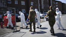 Las autoridades alemanas ordenaron un nuevo bloqueo para todo el distrito de Guetersloh el martes.