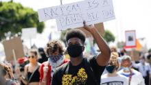 La investigación indica que las protestas de Black Lives Matter no han llevado a un fuerte aumento en los casos de coronavirus