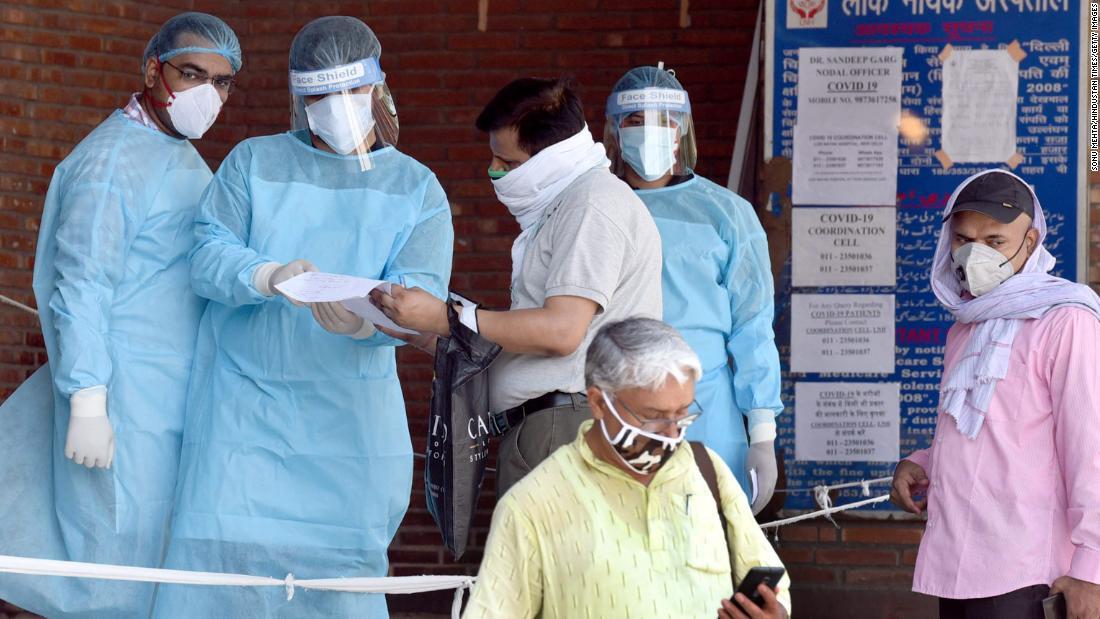 Cuando Delhi se convierte en la capital del coronavirus de la India, sus hospitales luchan por sobrevivir