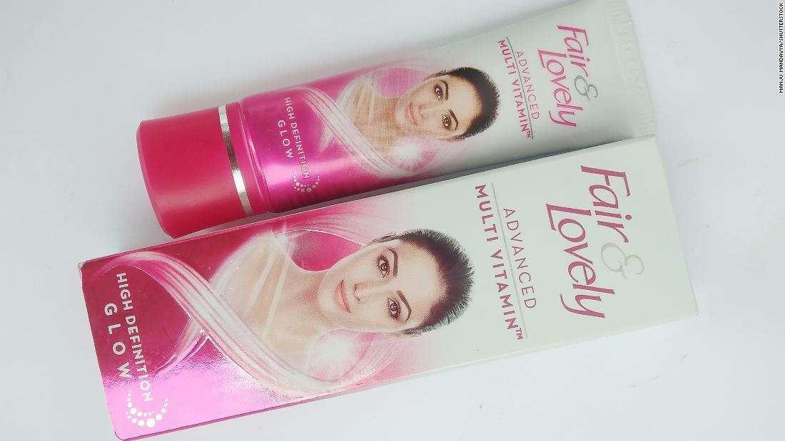 """Los productos de cuidado de la piel """"Fair and Lovely"""" de Unilever en India cambiarán su nombre"""