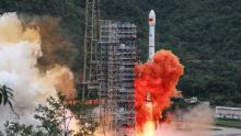 El rival GPS chino Beidou ahora está completamente operativo después del lanzamiento del satélite final