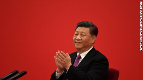 El presidente chino, Xi Jinping, lo vio durante la reunión de diciembre de 2019. Xi estaba desarrollando una política cada vez más nacionalista como líder chino.