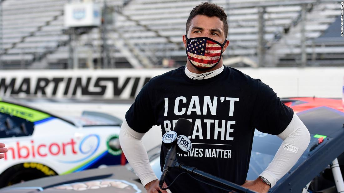 Bubba Wallace: NASCAR dice que se encontró un bucle en el puesto de carreras