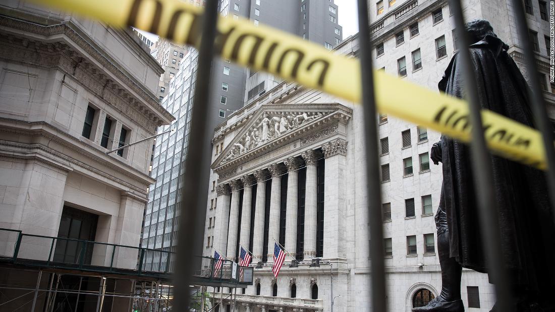 Dow cambia más de 700 puntos a medida que las previsiones económicas se vuelven cada vez más difíciles