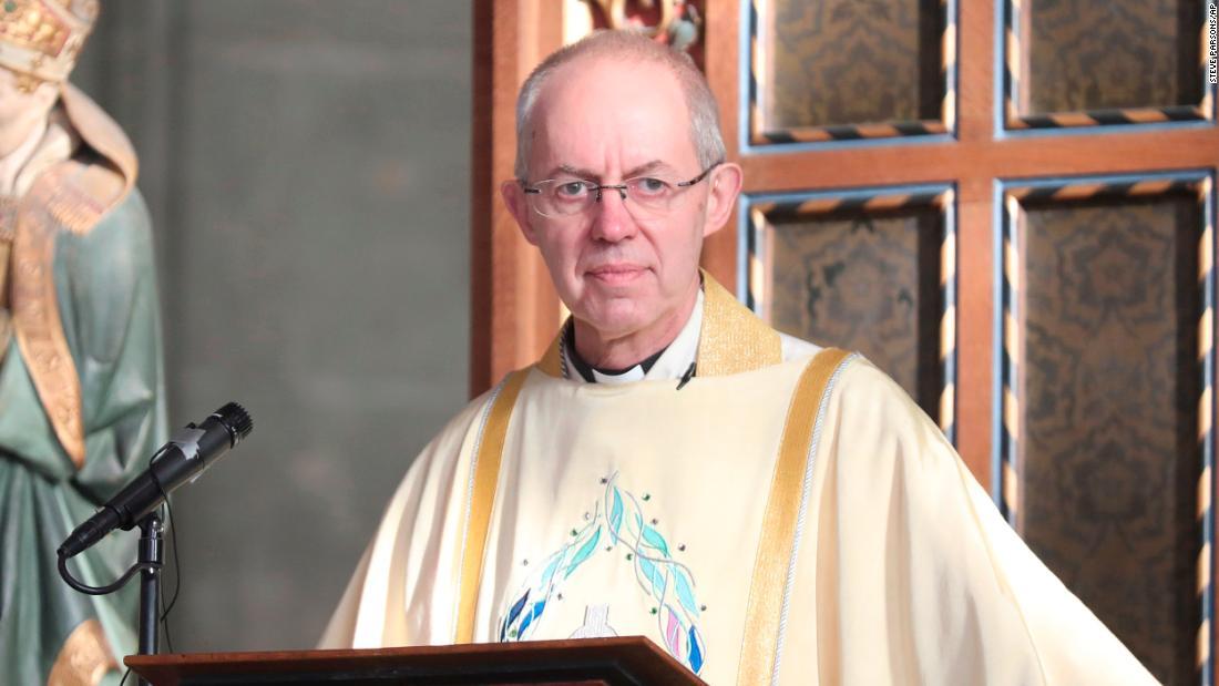 El arzobispo de Canterbury dice que el retrato de Jesús como blanco debería reconsiderarse a la luz de las protestas del Ser Oscuro.