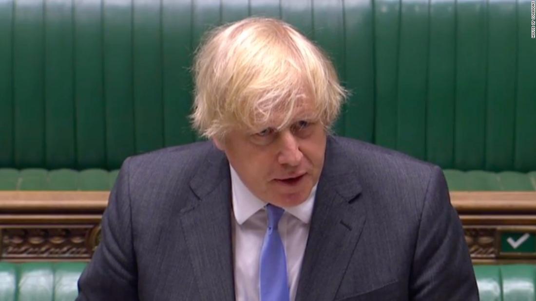 El primer ministro británico, Boris Johnson, revela una gran relajación del bloqueo