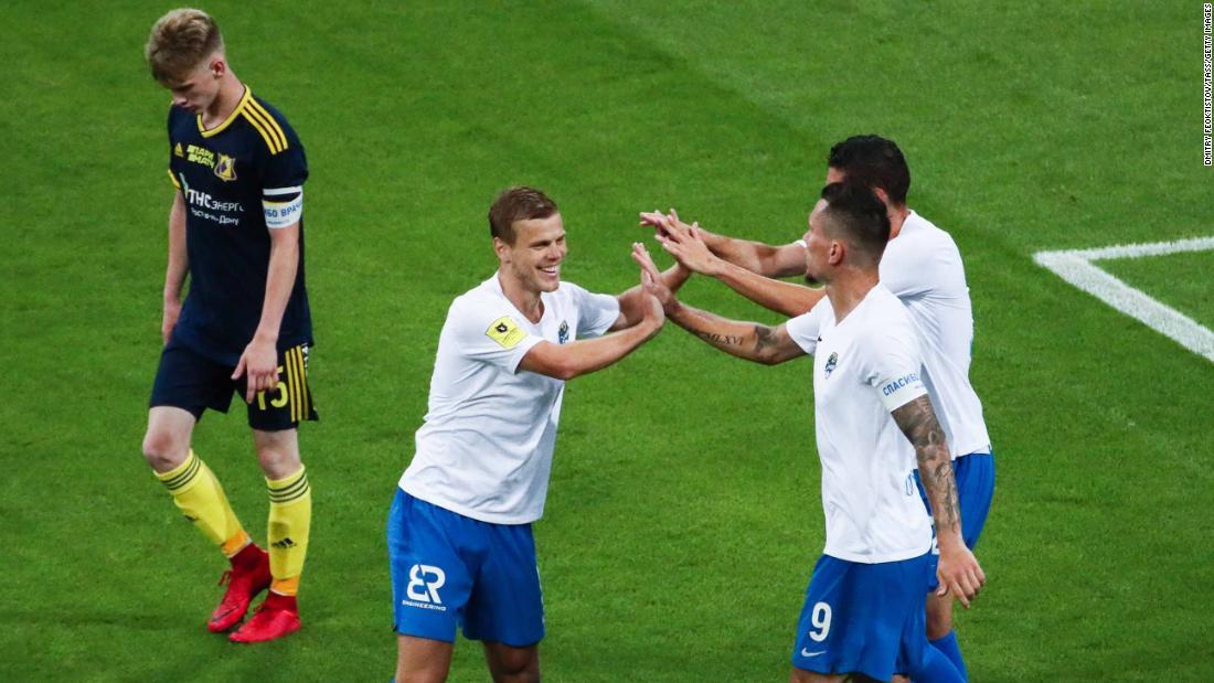 FC Rostov: el equipo de fútbol ruso perdió 10-1 después de que Covid-19 la obligara a jugar en el equipo juvenil