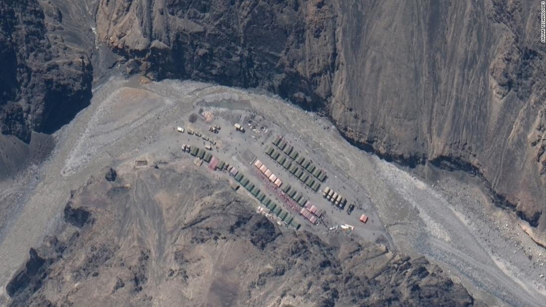 Frontera indochina: las imágenes de satélite muestran la acumulación en un choque mortal