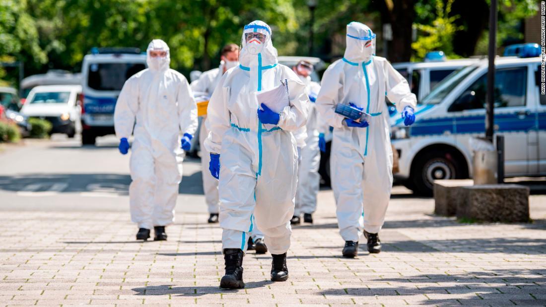 La tasa de reproducción del coronavirus en Alemania aumenta después de una explosión masiva en plantas procesadoras de carne