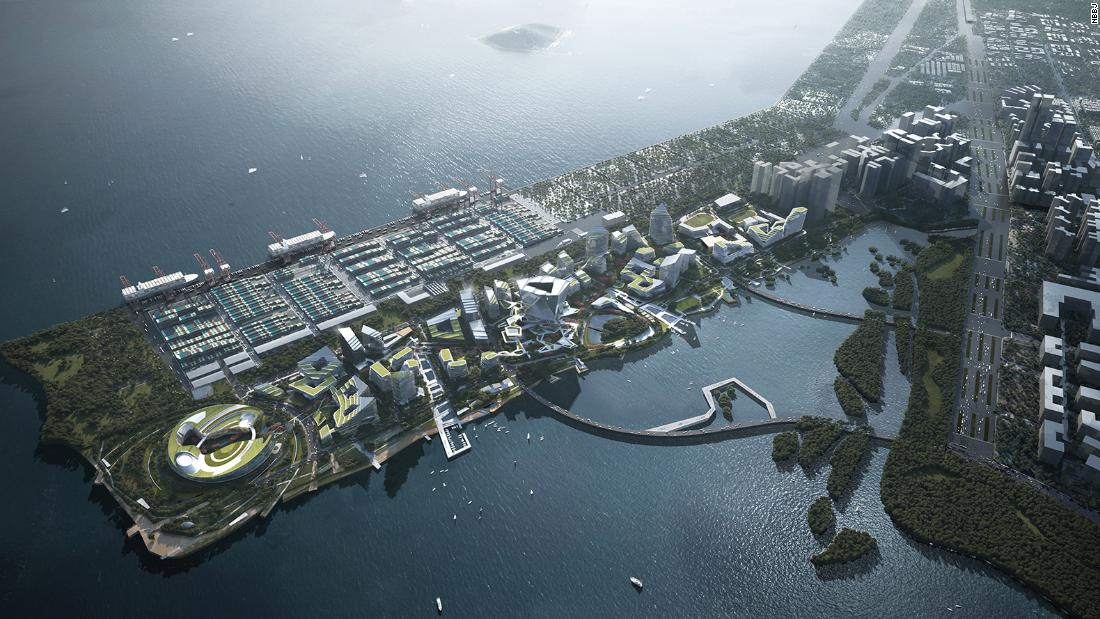 """Net City: Tencent está construyendo una """"ciudad del futuro"""" del tamaño de Mónaco en Shenzhen"""