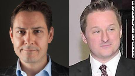 Los canadienses Michael Kovrig y Michael Spavor han estado detenidos en China desde 2018.