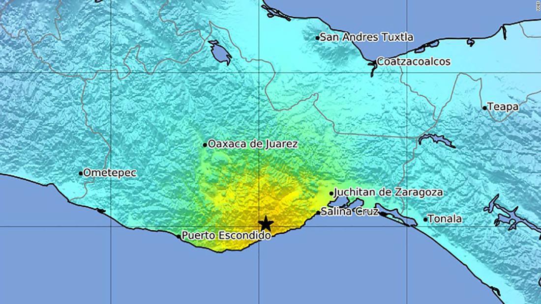 Terremoto en México: un terremoto de 7,4 golpea Oaxaca